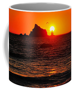 Rialto Beach Sunset Coffee Mug