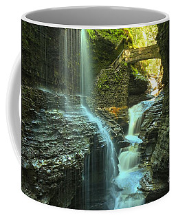 Rainbow Falls Watkins Glen Coffee Mug