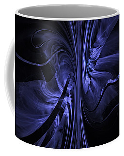 Coffee Mug featuring the digital art Ribbons Of Time by GJ Blackman