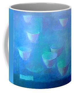 Rice Bowls Oil On Canvas Coffee Mug