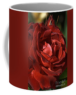 Coffee Mug featuring the photograph Rich Is Rose by Joy Watson