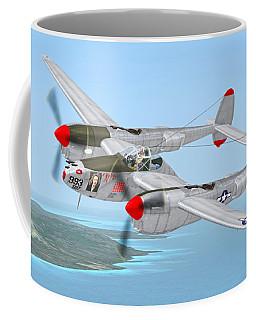 Richard Bong's P-38 Lightning Marge Coffee Mug