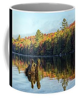 Ricker Pond Fall Reflections Coffee Mug