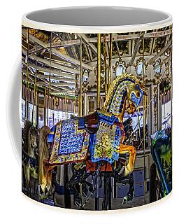 Ride A Painted Pony - Coney Island 2013 - Brooklyn - New York Coffee Mug by Madeline Ellis