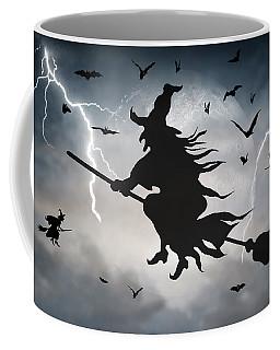 Ride Like Lighting Coffee Mug by Brian Wallace