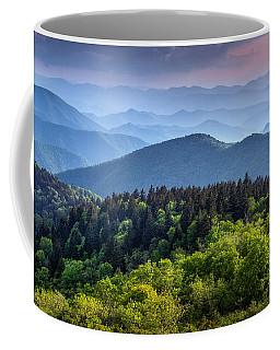 Ridges At Sunset Coffee Mug
