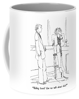 Riding Boots?  Can We Talk About This? Coffee Mug