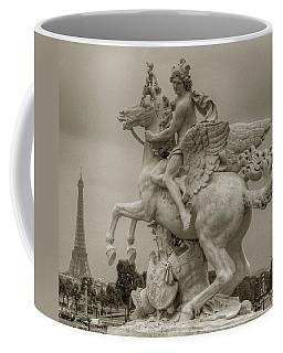 Riding Pegasis Coffee Mug
