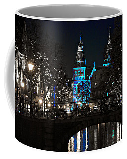 Rijksmuseum In Blue Coffee Mug by Jonah  Anderson