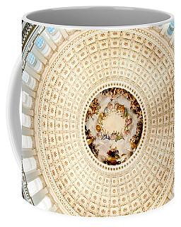 Ring Around The Capitol Coffee Mug