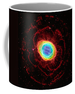 Ring Nebula's True Shape Coffee Mug by Marco Oliveira