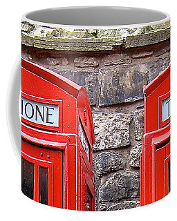 Ring Ring Coffee Mug by Suzanne Oesterling