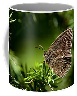 Ringlet Aphantopus Hyperantus Coffee Mug