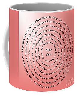 Ringo Starr Typography Coffee Mug