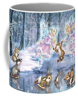 Rink In The Forest Coffee Mug