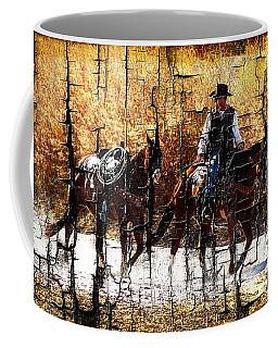 Rio Cowboy With Horses  Coffee Mug
