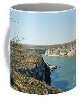 Coffee Mug featuring the photograph Rio Grande by Erika Weber