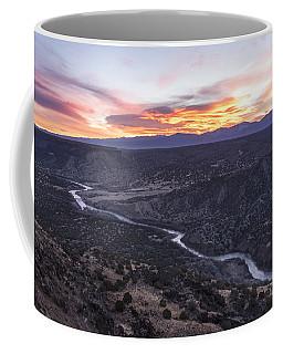 Rio Grande River Sunrise - White Rock New Mexico Coffee Mug