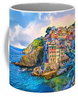Riomaggiore Morning - Cinque Terre Coffee Mug