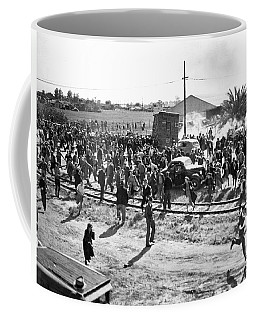Riots At Cannery Strike Coffee Mug
