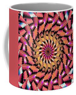 Rippled Source Kaleidoscope Coffee Mug