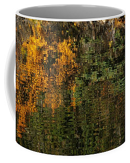 Ripples And Reflections Coffee Mug by Vivian Christopher