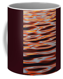 Ripples At Sunset Coffee Mug