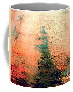 Coffee Mug featuring the painting Rise by Jacqueline McReynolds