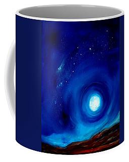 Rising Desert Moon Coffee Mug