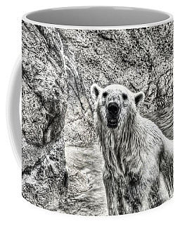 Coffee Mug featuring the photograph Rising From The Water by Dennis Baswell