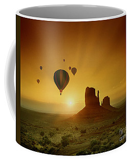 Rising To The Sun Coffee Mug