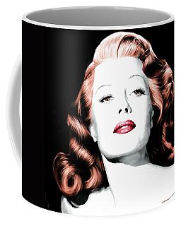 Rita Hayworth Large Size Portrait Coffee Mug