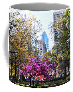 Rittenhouse Square In Springtime Coffee Mug by Bill Cannon