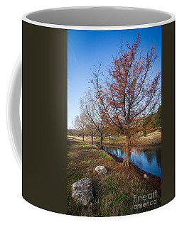 River And Winter Trees Coffee Mug