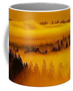 River Fog Rising Coffee Mug