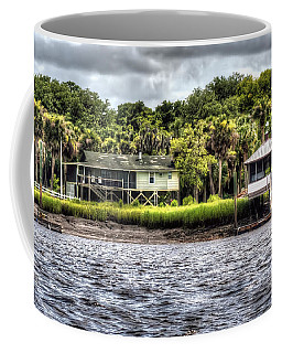 River House On Wimbee Creek Coffee Mug