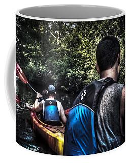 River Kayaking Coffee Mug