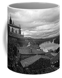 River Mino And Portugal From Tui Bw Coffee Mug