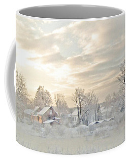 River Mist On A Very Cold New Hampshire Morning Coffee Mug