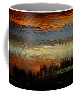 Coffee Mug featuring the photograph River Of Sky by Laura Fasulo