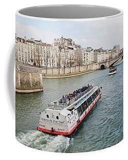 River Seine Excursion Boats Coffee Mug