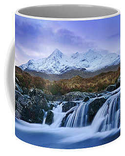 Waterfall And The Cuillins Coffee Mug