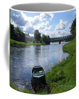 River Spey At Cromdale Coffee Mug