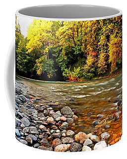 River Sunset Coffee Mug