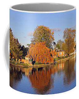 River Thames At Marlow Coffee Mug