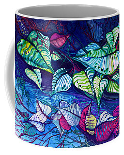 Riverbank Foliage Coffee Mug