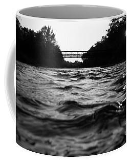 Coffee Mug featuring the photograph Rivers Edge by Michael Krek