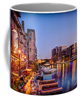 Riverwalk At Dusk Coffee Mug