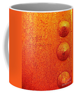 Rivets Coffee Mug by Linda Bianic