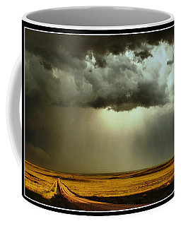 Road Into The Storm Coffee Mug by Steven Reed
